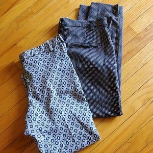 Set of 2 H&M  Pants 37 Length